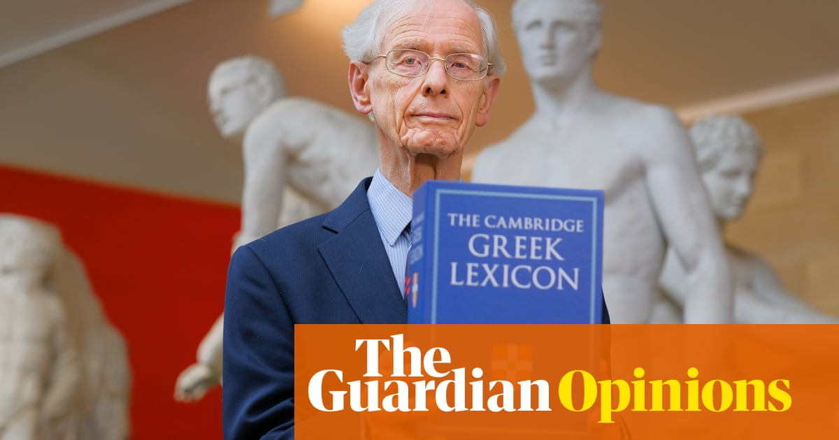 The Guardian view on the art of lexicography: ancient Greek lives on