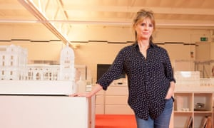 Amanda Levete of AL_A architects.