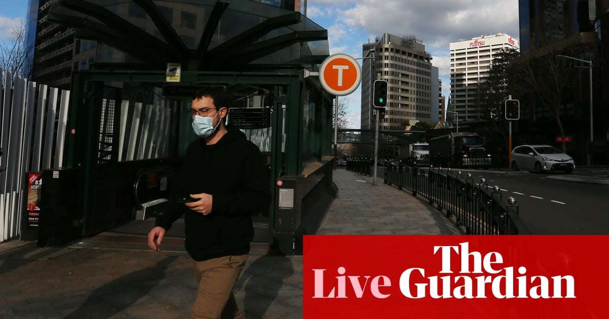 Australia news live: Sydney braces for more Covid cases amid new mask rules for schools