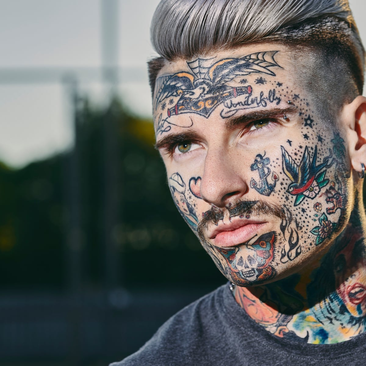 The Rise Of Jobstoppers Should Face Tattoos Be Banned Fashion The Guardian