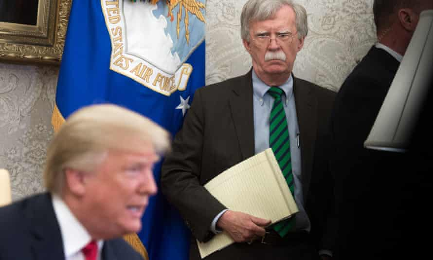 'Bad cop and worse cop': Donald Trump and John Bolton in the White House, May 2018