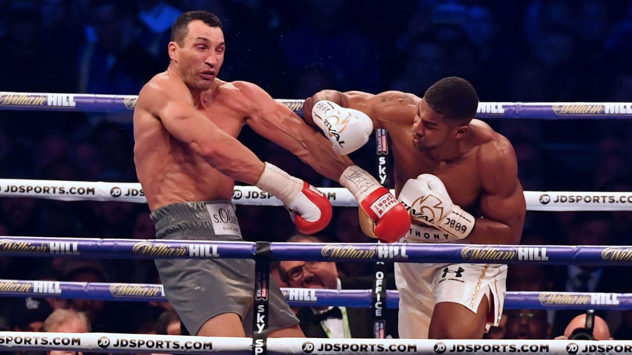 Bo boxer wladimir klitschko wikipedia the - Anthony Joshua On Wladimir Klitschko Fight It S What Life S About You Just Keep On Going Video Sport The Guardian