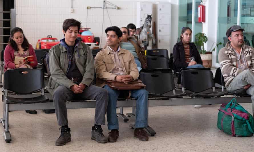 Christian Vázquez, left, and Armando Espitia in I Carry You With Me.