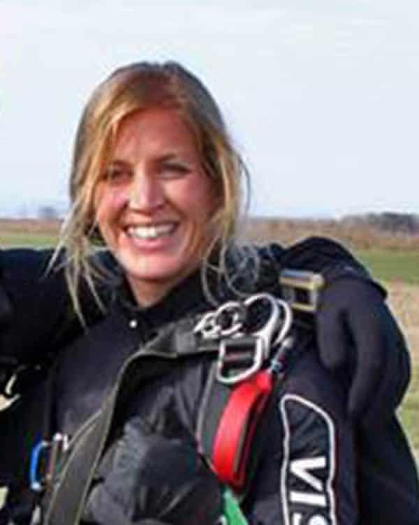 Austrian skydiving instructor Stefanie Goller
