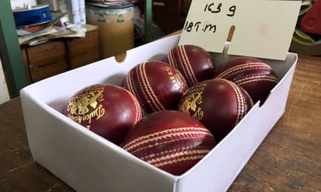 England cricketers to each have own box of balls for training next week