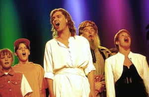 Phillip Schofield took to the stage as Joseph in 1991 at the Palladium. Last year, he reprised his role for one night on Ant & Dec's Saturday Night Takeaway to celebrate Andrew Lloyd Webber's 70th birthday