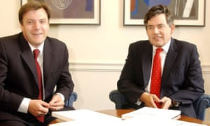 Gordon Brown and Ed Balls wanted strict conditions to be met before Britain joined the euro.