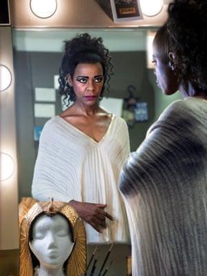 Josette Simon in Antony and Cleopatra, Royal Shakespeare Company, Stratford, 2017