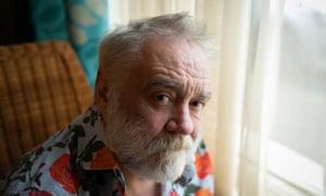Tony Slattery … 'I still look like George Bernard Shaw and Rasputin because of the beard.'