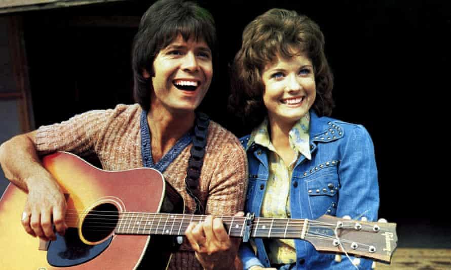 Deborah Watling with Cliff Richard in the film Take Me High, 1973.