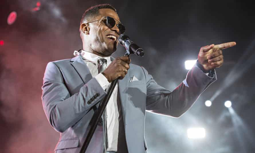 Maxwell in concert at the Essence festival in New Orleans earlier this month