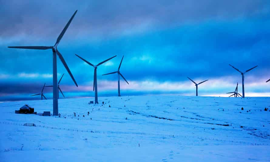 Bow Beat wind farm in Scottish Borders