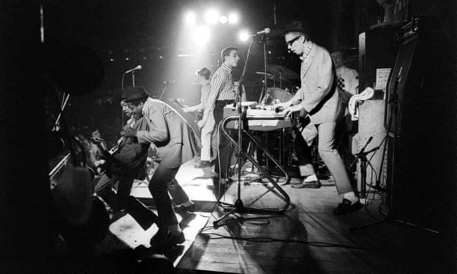 Enjoy yourself ... The Specials onstage.