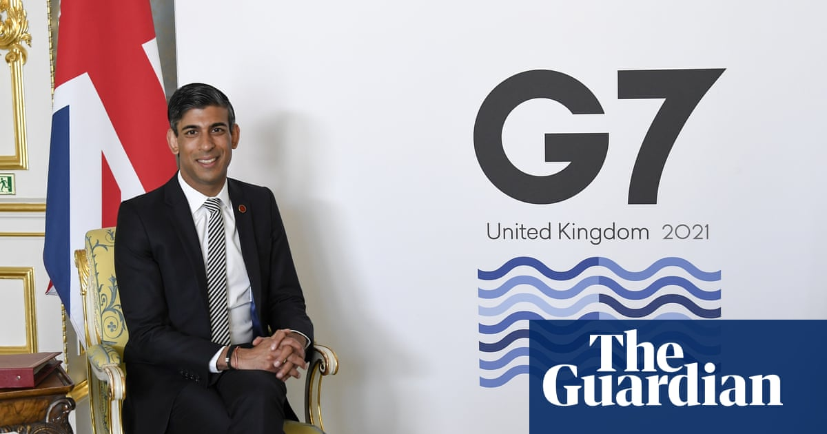 Rishi Sunak announces 'historic agreement' by G7 on tax reform