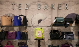 Ted Baker goods are displayed in a store in London.
