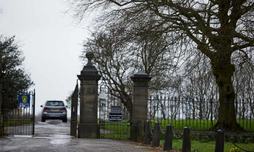 An entrance to the Hulton Park estate