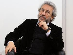 Can Dündar, Turkish journalist and author at the Frankfurt Book Fair 2016