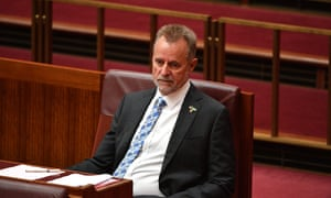 Nigel Scullion has been accused of behaving 'totally against the rules'.