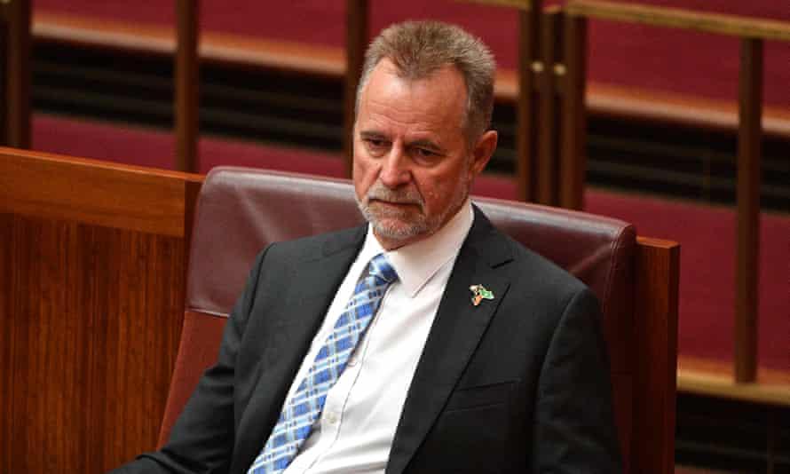 Australia's former Indigenous affairs minister Nigel Scullion