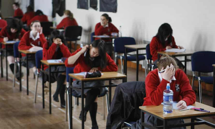 There were more than 1,000 tweets about the exam within hours of the paper being taken
