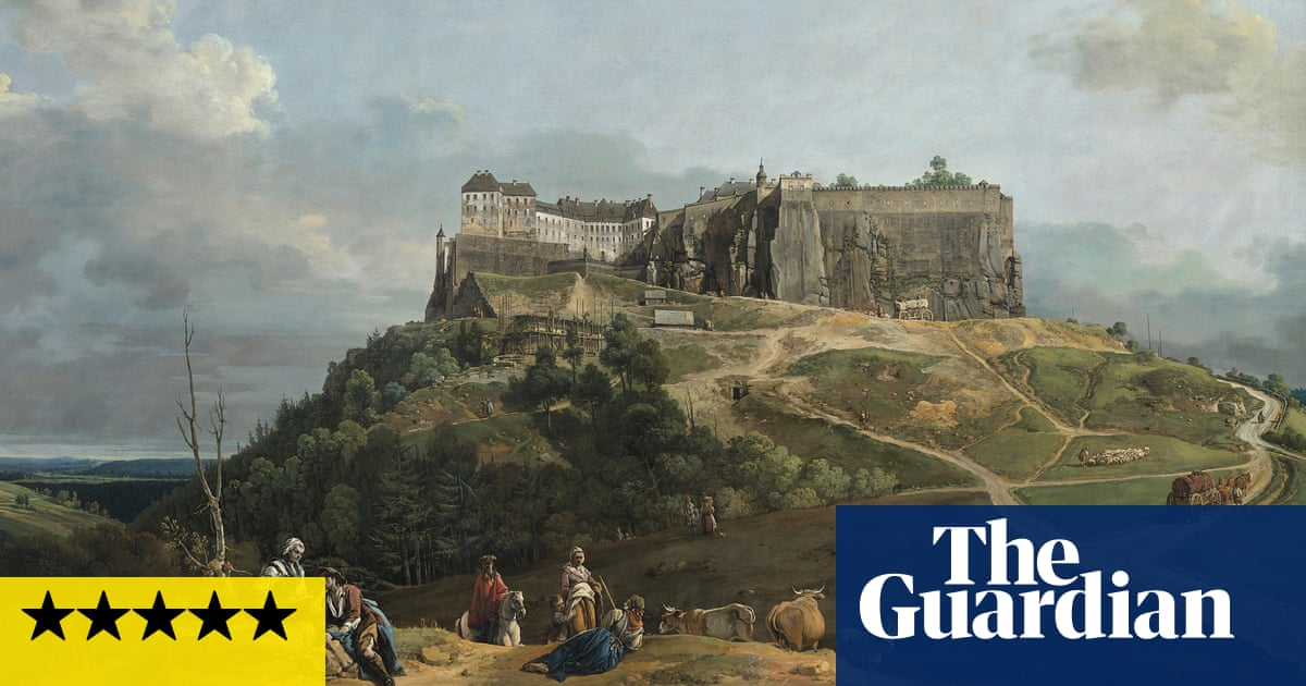 Little Canaletto's sublime city in the sky – Bellotto: The Königstein Views Reunited review