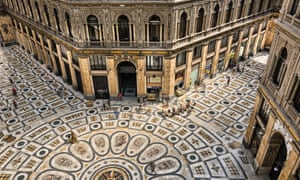 Totally floored: the Galleria Umberto I in Naples.