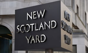 A sign for New Scotland Yard