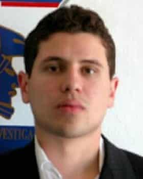 Iván Archivaldo Guzmán, son of El Chapo and half-brother of Rosa.