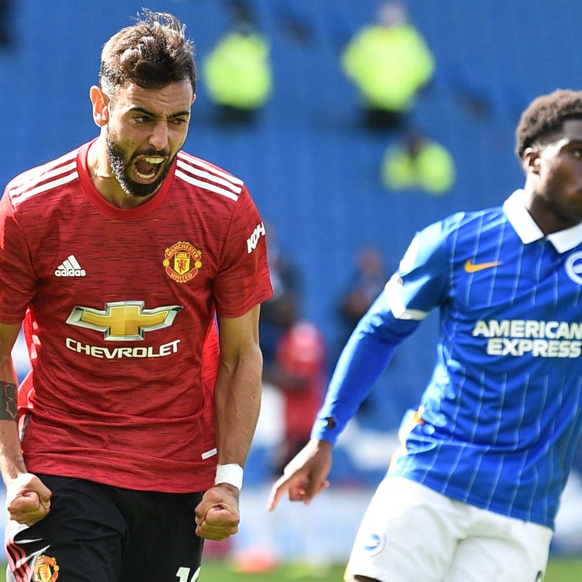 Brighton 2 3 Manchester United Premier League As It Happened Football The Guardian