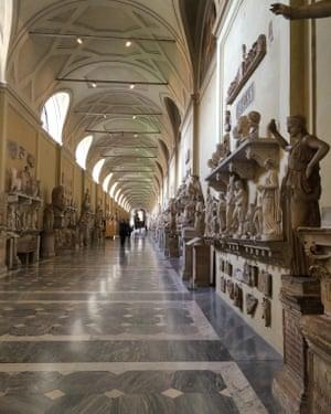 Danila Galante, Museo Chiaramonti