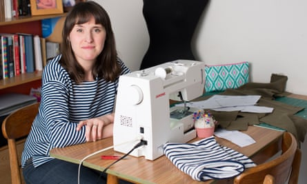 Zoe Edwards, who 11 years ago pledged never to buy new clothes.