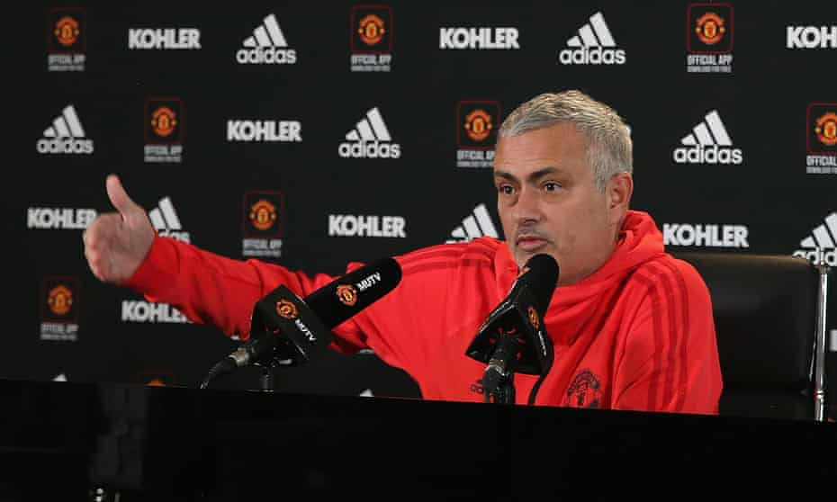 José Mourinho's Manchester United are in seventh place in the Premier League and host fourth-placed Arsenal at Old Trafford on Wednesday.