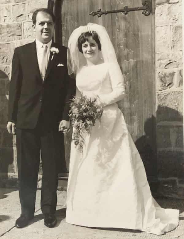 Ruth and Adrian on their wedding day in 1966