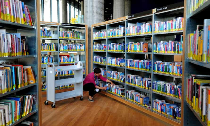 'A calm, quiet and safe place' … a public library.