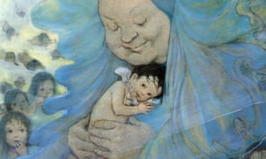 Detail of illustration from The Water Babies by Jessie Willcox Smith