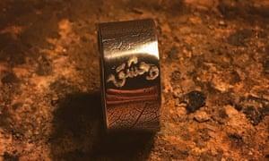 A handcrafted bracelet by Steve Ali