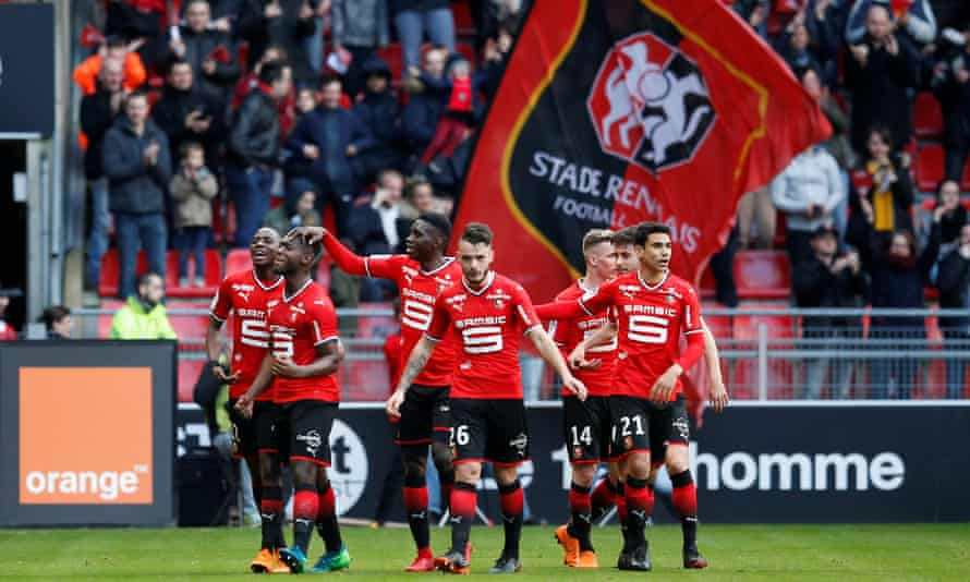Stade Rennes are unbeaten in eight games in Ligue 1.