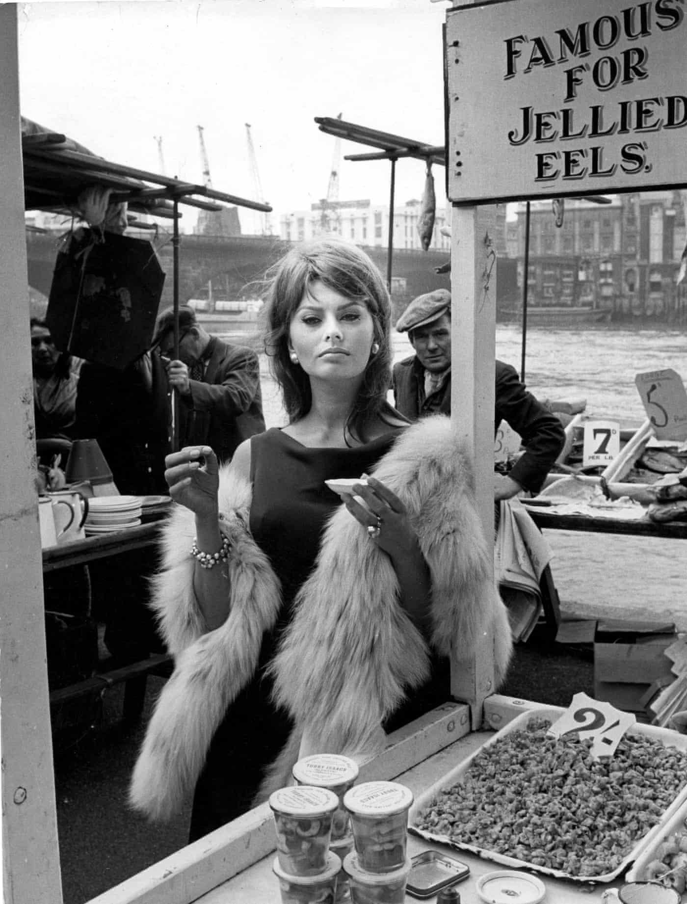Frozen in Time: Sophia Loren, London, June 1960
