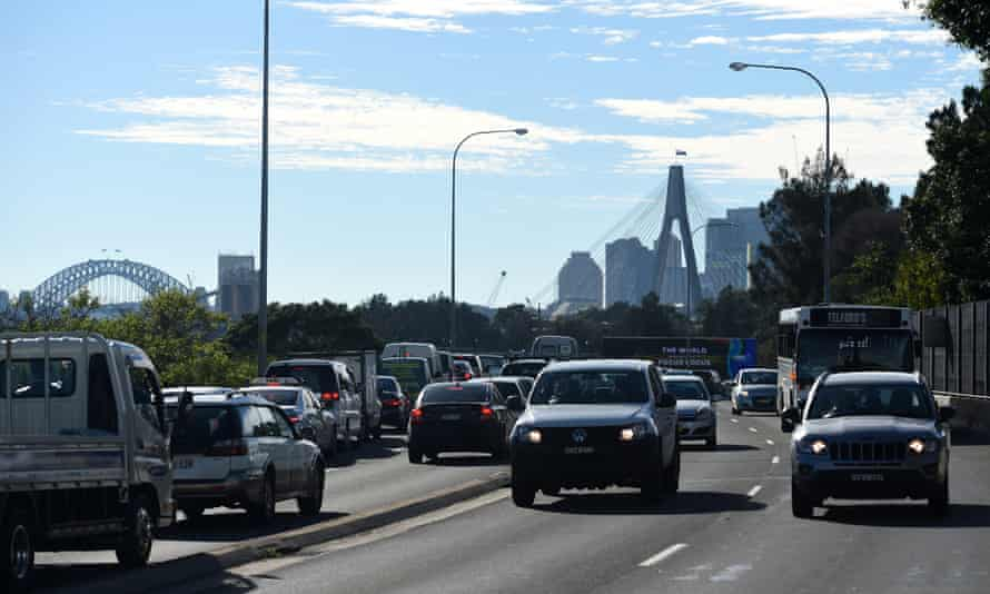 Increases in carbon emissions from all forms of transport has helped push Australia's annual emissions to a record level.