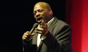 Alexander O'Neal performing in April 2018.