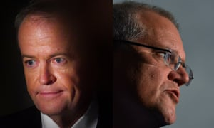 Bill Shorten and Scott Morrison