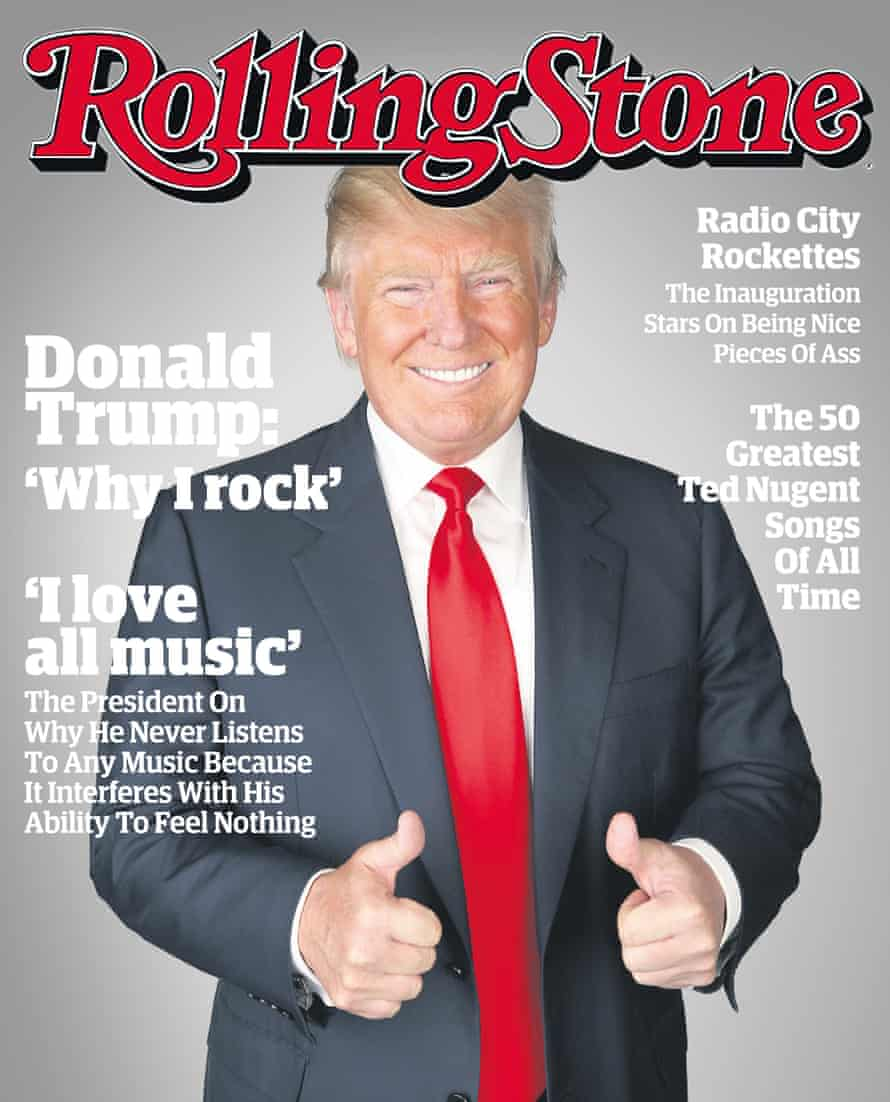Fake cover #5: Rolling Stone.