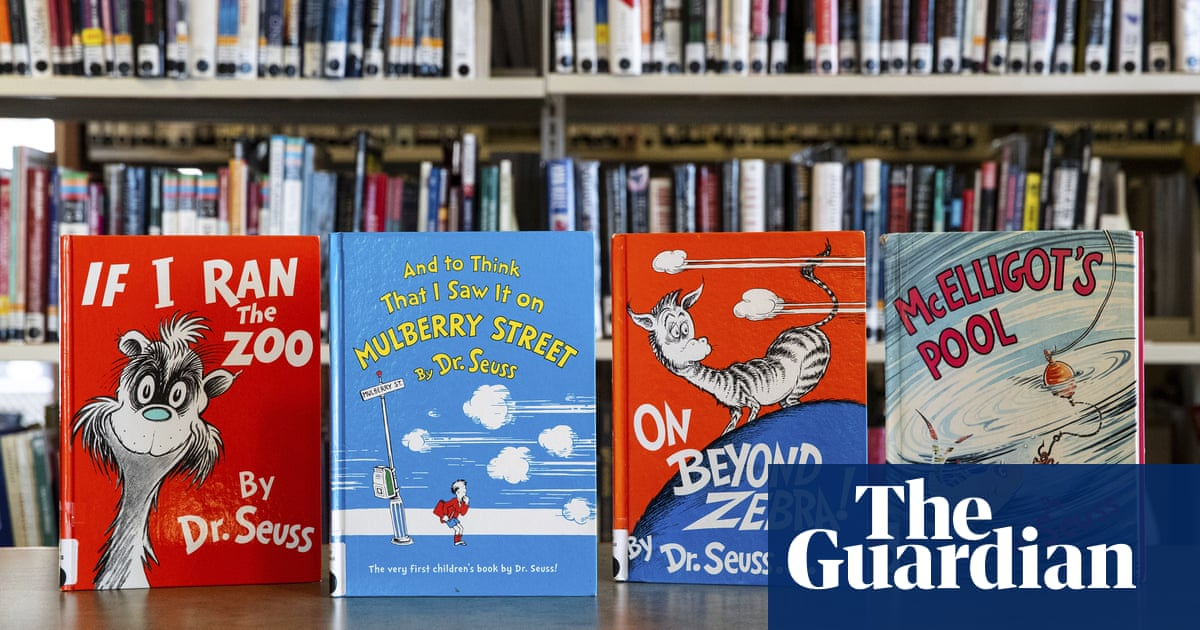 Dr Seuss rockets up US charts after books pulled over racist portrayals