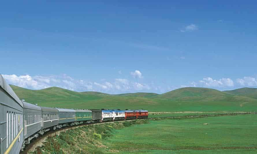 The Trans-Mongolian Railway, which Rajesh takes on an 11-day journey to Beijing.