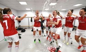 Arsenal Crowned Wsl Champions With Game To Spare After