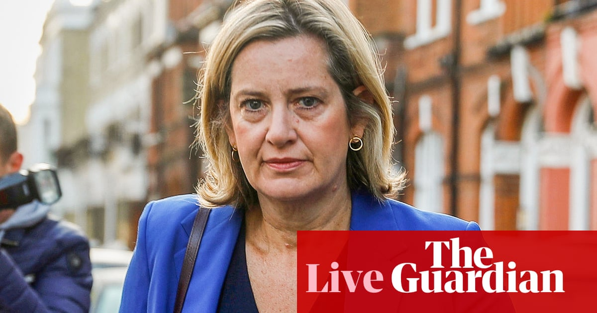 Brexit: Amber Rudd says no evidence Boris Johnson trying to get deal with EU  – live news