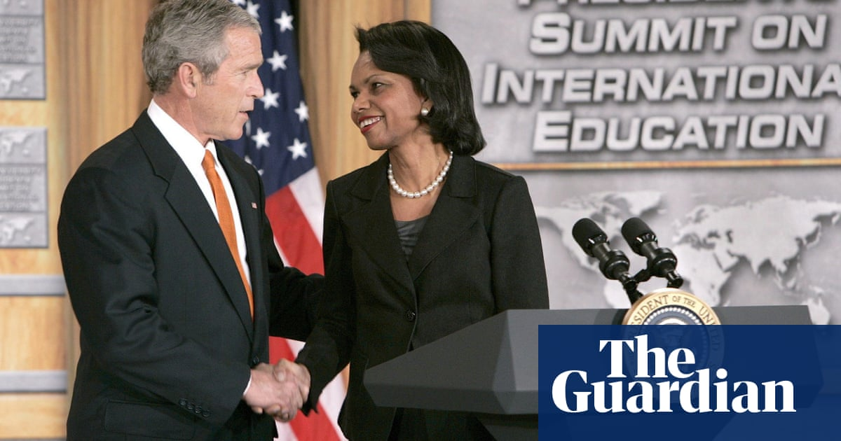 George W Bush reveals he voted for Condoleezza Rice in 2020 US election