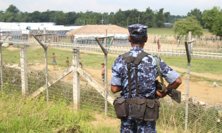 Myanmar border guard