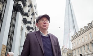 Ian Bone, the 70-year-old Shard protester, has been protesting about gentrification and social cleansing since the 80s