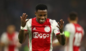 Quincy Promes thought he had opened the scoring for Ajax.